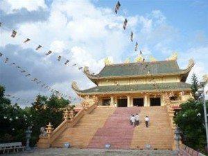 Vãn cảnh Vạn Phật Quang Đại Tòng Lâm tự