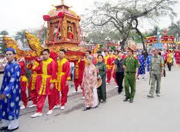 Quảng Ninh: Khai hội đền Đức ông Trần Quốc Nghiễn