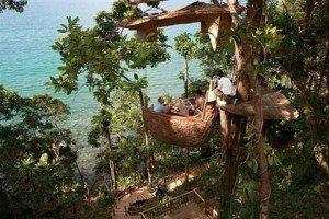 Độc đáo nhà hàng trên cây