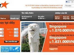 Jetstar Pacific bán vé 2 người chỉ từ 490.000 đồng