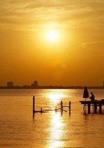 Du lịch Hà Nội – Hoàng hôn tuyệt đẹp trên Hồ Tây