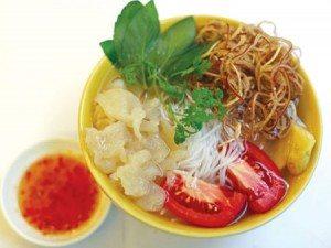 Đậm đà tô bún sứa Nha Trang