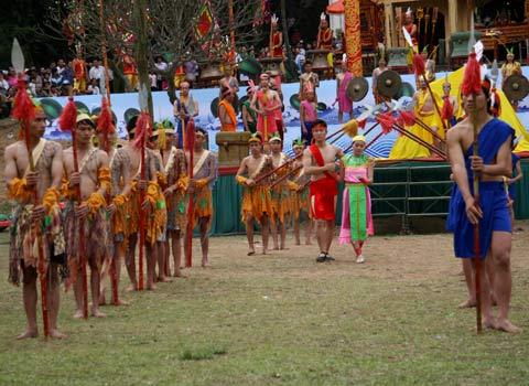 Canh Mai An Tiem bi day