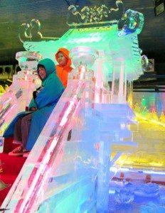 Điêu khắc di sản thế giới trên băng
