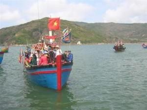 Bình Định: Lễ Hội Cầu Ngư, Hát Bả Trạo