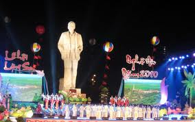 Nghệ An: Khai mạc Lễ hội Làng Sen năm 2011