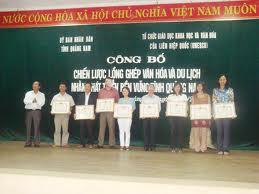 Quảng Nam: Lồng ghép văn hoá và du lịch
