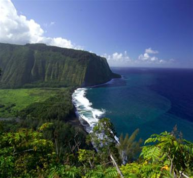 thung lung waipi'o,hawaii