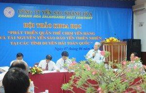 Việt Nam có nhiều lợi thế phát triển quần thể chim yến