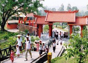 Khánh thành khu mộ bà Hoàng Thị Loan
