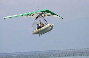 Khám phá vịnh Nha Trang bằng diều bay