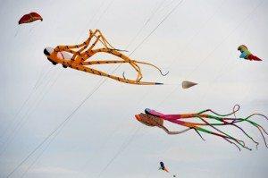 Ngày hội diều trên bãi biển Nha Trang