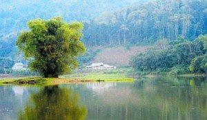 Vẻ đẹp hồ Tả Sín (Bát Xát)