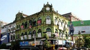 Có một góc Yangon