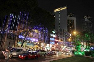 Rực rỡ đêm thành phố Kuala Lumpur