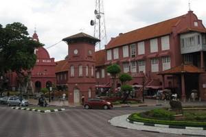 Melaka – thành phố thắm sắc đỏ