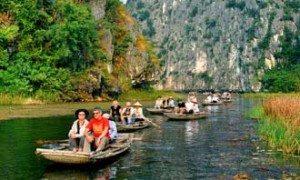 Ninh Bình: Tour du lịch Kênh Gà – Vân Trình – Vân Long