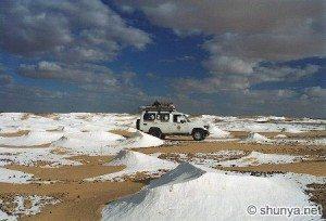 Tuyệt tác sa mạc trắng từ thiên nhiên