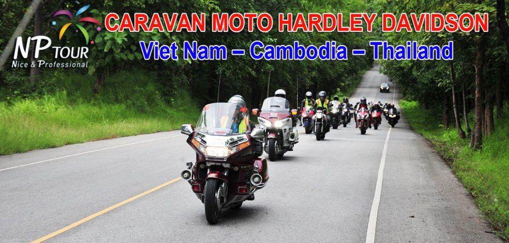 chuong trinh caravan mo to vietnam - cambodia - thailand