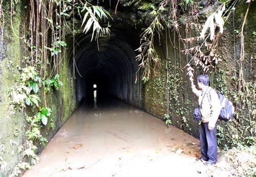 Hầm đường sắt Thanh Lạng (xã Thanh Hóa, huyện Tuyên Hóa, tỉnh Quảng Bình) - Ảnh: M.Văn