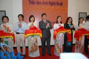"""Khai mạc Triển lãm ảnh """"Các di sản thế giới của Việt Nam"""""""