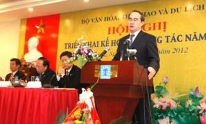 Khai mạc Hội nghị triển khai công tác ngành VHTTDL năm 2012