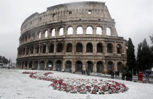 Ngắm Châu Âu trắng xóa trong tuyết