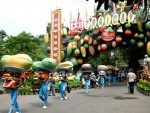 khu du lich suoi tien dien ra le hoi trai cay nam bo 2013