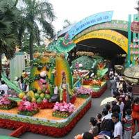 Đặc sắc lễ hội trái cây Nam Bộ tại Suối Tiên –TP.Hồ Chí Minh