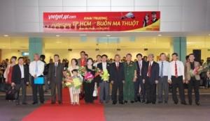VietJetAir khai trương đường bay TP.Hồ Chí Minh – Buôn Ma Thuột