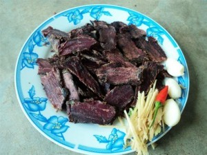 Thơm phức bò gác bếp Cao Bằng