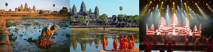 Caravan Siemriep Angkor wat Angkor thom