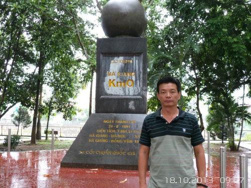 Cot chuan quoc gia Ha Giang