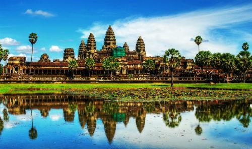 Ve dep quan the Angkor