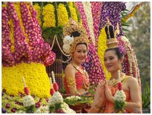 Lễ hội hoa rực rỡ tại Chiang Mai