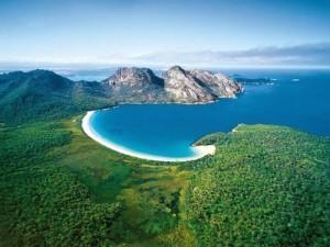 Tới Úc thăm vịnh tuyệt đẹp hình ly rượu