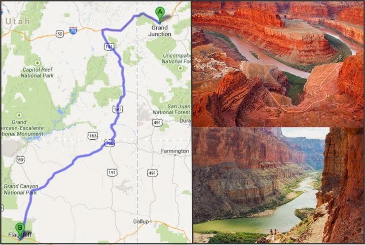 Caravan khoi hanh di Grand Canyon