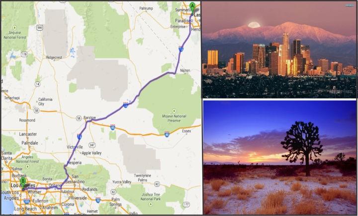 Doan caravan khoi hanh di Los Angeles