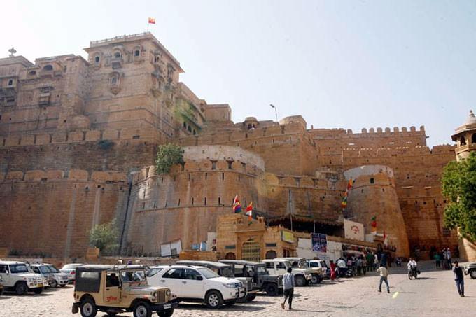 Du lich thanh pho mat ngot Jaisalmer