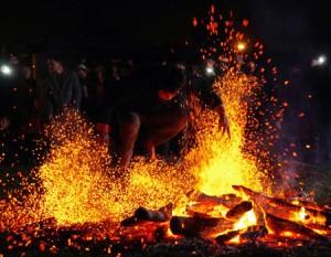 Lễ hội nhảy lửa của dân tộc Pà Thẻn