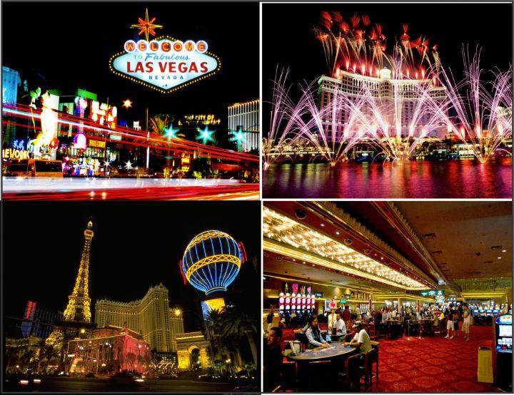 Tan huong trai nghiem o Las Vegas