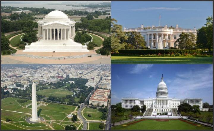 Tham quan thu do Washington bang xe