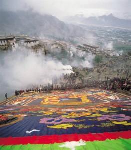 Độc đáo lễ hội Shoton tại Tây Tạng