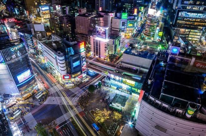 Mua sam tai khu Shibuya
