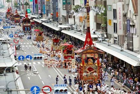 Tham gia le hoi Gion Matsuri