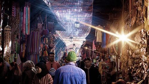 Cac cua hieu o La Medina
