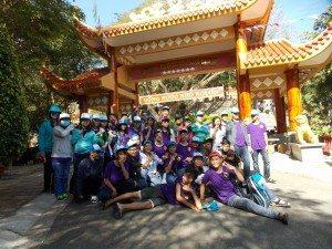 Trường THPT Nguyễn Công Trứ tham quan biển Long Hải- Chiến khu Minh Đạm