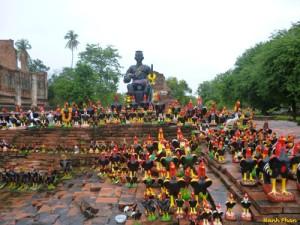 Khám phá cố đô Ayutthaya
